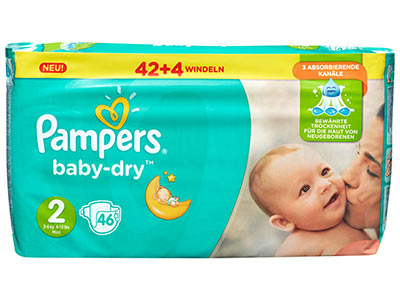 Lidl family for Pampers couche piscine